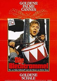 the tin drum movie, the tin drum,, gunter grass, charles aznavour